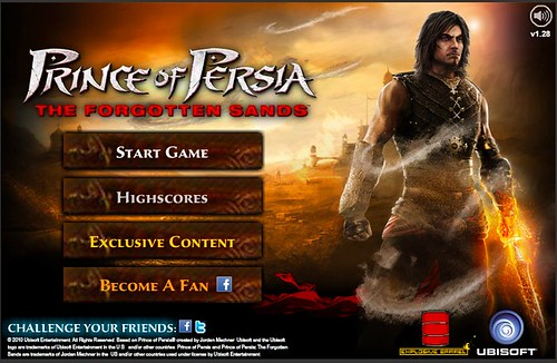 Prince of Persia The Flash Game