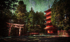 Ancient Nikko (Stuck in Customs) Tags: world travel trees heritage texture japan architecture painting temple photography japanese blog site high ancient shrine asia dynamic stuck traditional religion structure unesco growth photograph sacred april nikko spiritual range processed torii hdr trey edo tochigi kanto travelblog customs worldheritage 2010 textural honshu  nikk ratcliff  tochigiprefecture tochigiken honsh nikkshi hdrtutorial stuckincustoms  treyratcliff kant kantchih photographyblog stuckincustomscom nikond3x