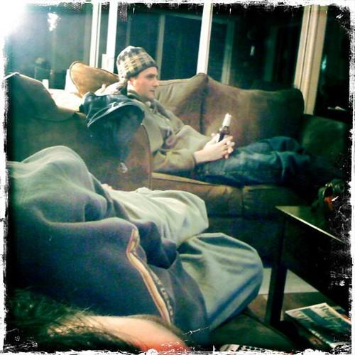 Patrick and Jeff Lounge