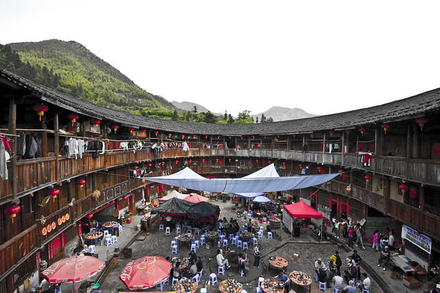 Tulou and the life surrounding it