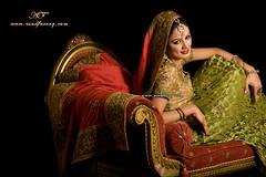 Bride.. in a new style (Asadfk) Tags: pakistan weddingphotography bridalphotography bridalportraiture weddingphotographerinkarachi