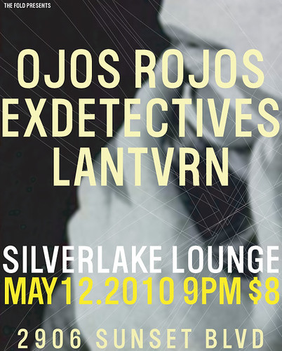 Flyer for 12 May @ Silverlake Lounge