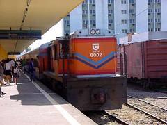 FPM609 Locomotiva CBTU 6002 (Fernando Picarelli Martins) Tags: railway locomotive maceió estadosunidos ferrovia alco locomotiva cbtu americanlocomotivecompany locomotivadieselelétrica companhiabrasileiradetrensurbanos alcors8 cbtu6002