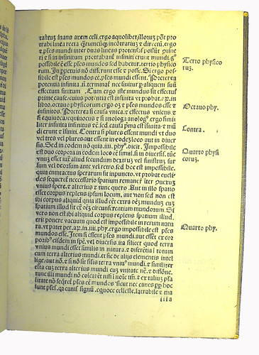 Page of Text with Variant Signature from 'Expositio Super Auctorem Spherae'