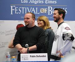 Pablo Defendini, Dana Goodyear, & Wil Wheaton