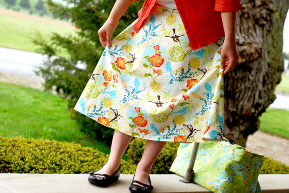 The Spring Skirt: Front