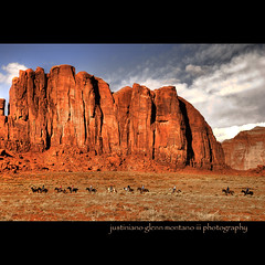 Camel Butte, Monument Valley (j glenn montano 3) Tags: park arizona ford monument john utah wayne glenn tribal valley navajo hdr montano stagecoach justiniano