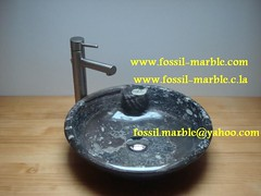 sinks fossils marble crafts marrakech (crafts jama3 lafna) Tags: crafts marrakech marble fossilized jamaa lafna