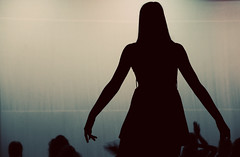 Dance in the Dark (mgm photography.) Tags: girl silhouette dance concert hands stage brock daviehigh