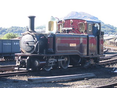 Taleisin - Boston Lodge (Derby Resident) Tags: uk wales railway steam ffestiniog taleisin bostonlodge
