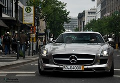 Gullwing (Jan L. | JLPhotography.) Tags: auto new summer car mercedes nikon exotic jl dsseldorf rare supercar duesseldorf sls sportscar amg 2010 k carspotting d90