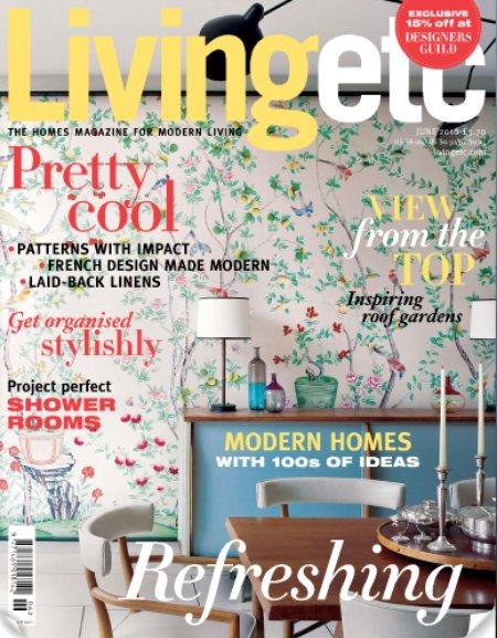 Living Etc. June Cover