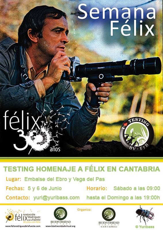 Testing homenaje a Félix en Cantabria