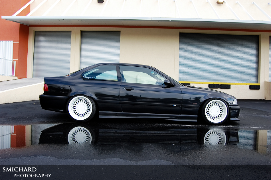 E36 with 10 quot rears