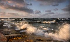 "Port Aransas ""Seascape"" - Texas (RondaKimbrow) Tags: morning seascape gulfofmexico sunrise texas portaransas anawesomeshot seascapesbeach pullfolio iamnodarrenwhite"