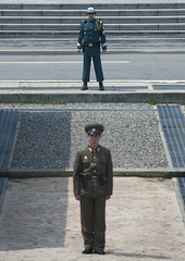 DMZ may 2010 from the north side - North Korea denies sinking warship (Eric Lafforgue) Tags: soldier army war asia korea unitednations asie tension coree guerre dmz northkorea  dprk cheonan coreadelnorte gyeonggi panmunjeom 5246 nordkorea  38thparallel  militarydemarcationline   coreadelnord koreandemilitarizedzone  pamunjon  insidenorthkorea  rpdc  kimjongun coreiadonorte