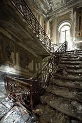 Sarabanda (ilConte) Tags: abandoned scale stairs decay villa abbandono