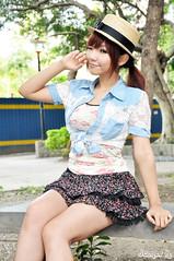 辛咩咩48 (袋熊) Tags: hot cute sexy beauty taiwan taipei 台北 可愛 外拍 性感 公民會館 時裝 數位遊戲王 辛咩咩