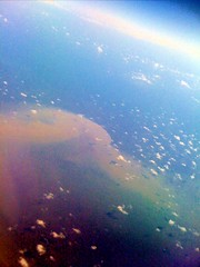 BP Gulf Oil Spill, 5.20.2010, @40,000 feet.