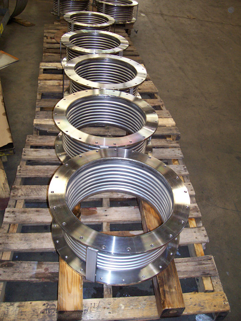 Flange Expansion Joints for a Thermal Power Plant