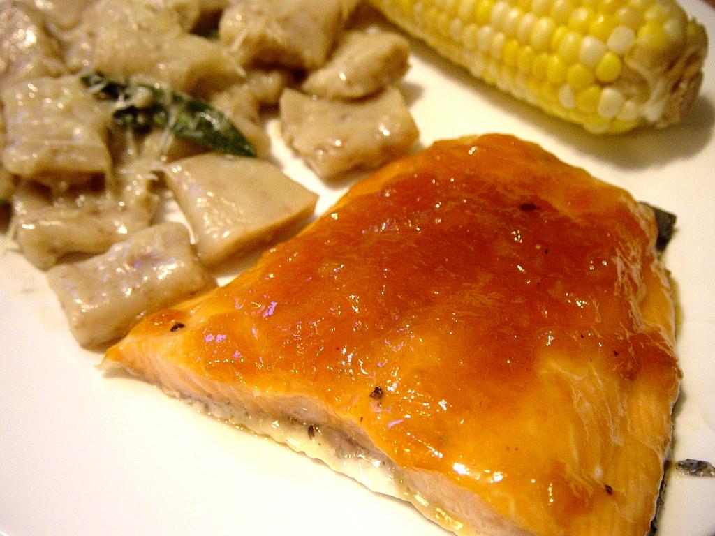 Cedar Plank Salmon Take 1