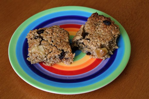 Apple & Raisin Flapjack