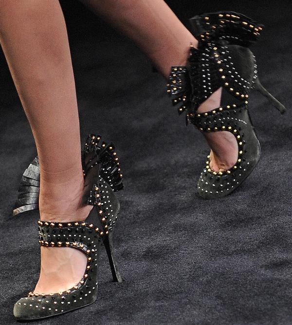 Prada FW2010 mohegan fringe shoes