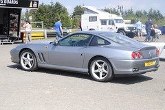 Ferrari 575M (Fireblade Stu) Tags: cars sport race scotland track performance ferrari motor knockhill 575m
