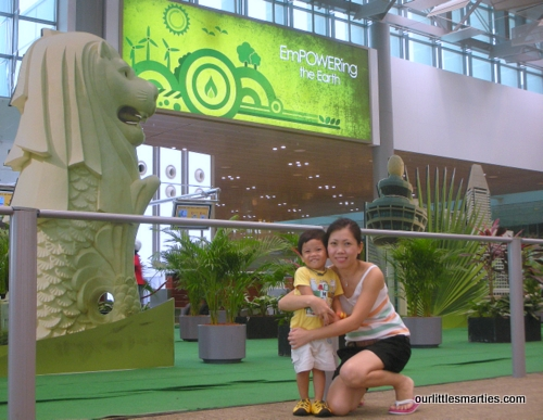 Changi Terminal 3 GOgreen event