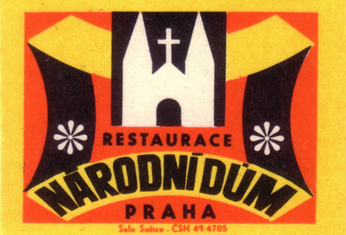 Restaurace Narodni Dum Praha