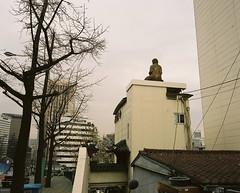 ... (june1777) Tags: street mamiya fuji buddha 7 snap h 400 seoul pro f4 67 namsan 65mm 400h mamiya7 pro400h