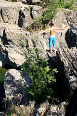 Canyon - Ovada (Roby-da-matti) Tags: italy italia fiume prosthesis orba protesi robertobruzzone robydamatti