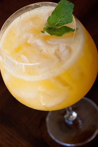 Pink Parsley Recipe Remix Peach Wine Coolers