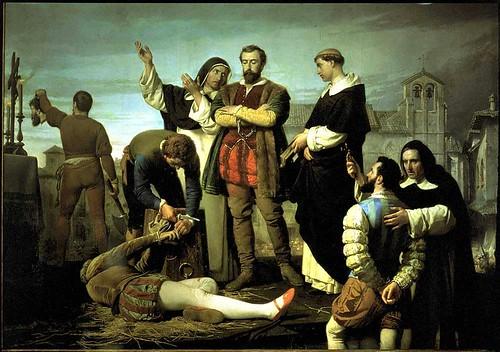Cuadro de Los Comuneros, obra de Gisbert (1860)
