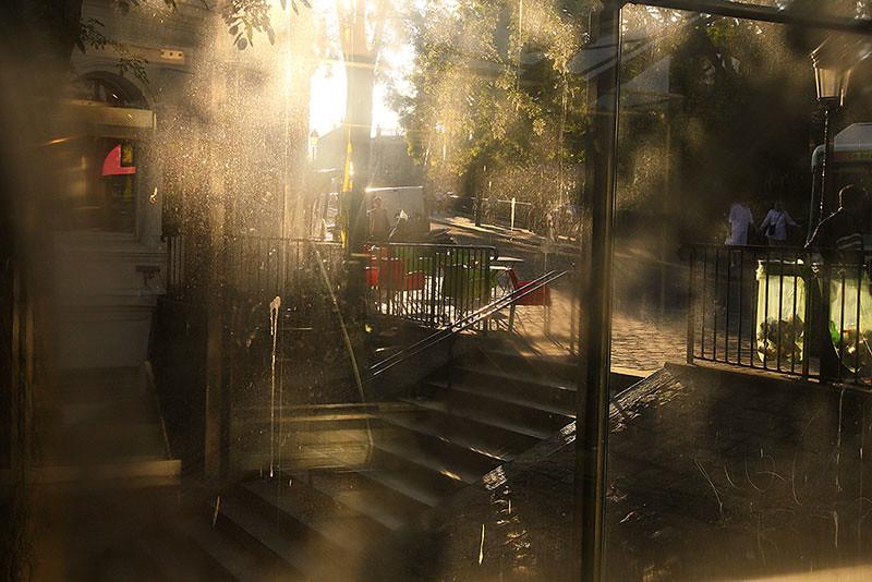 Evening light on the Montmartre / Вечерний свет на Монмартре