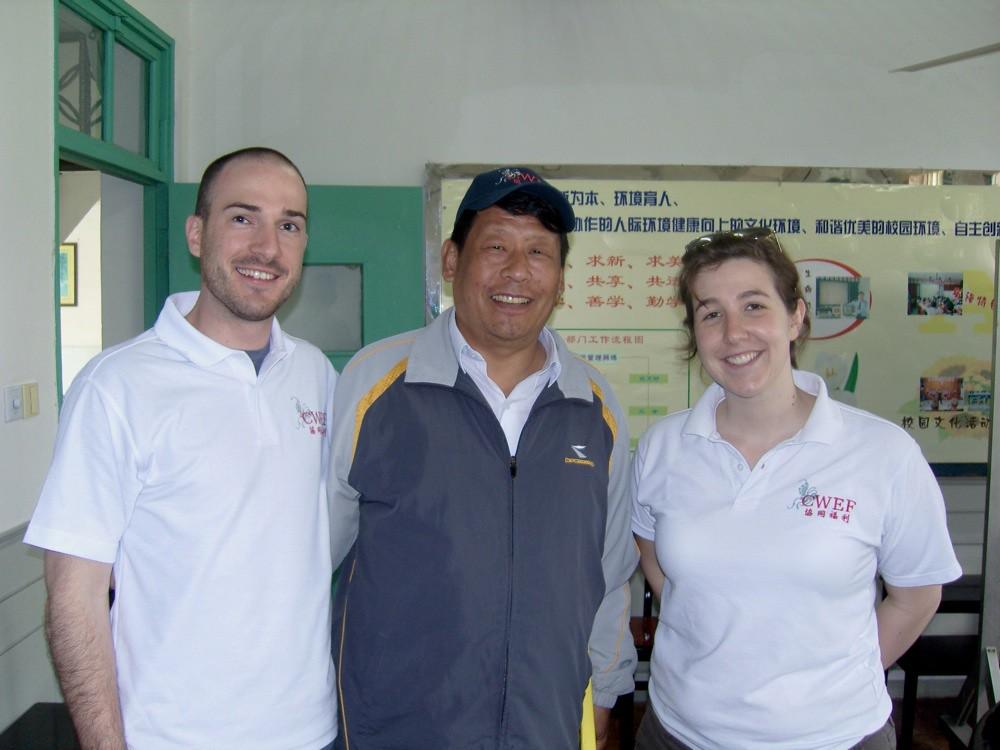 Josh, Principal Zhou, Josie