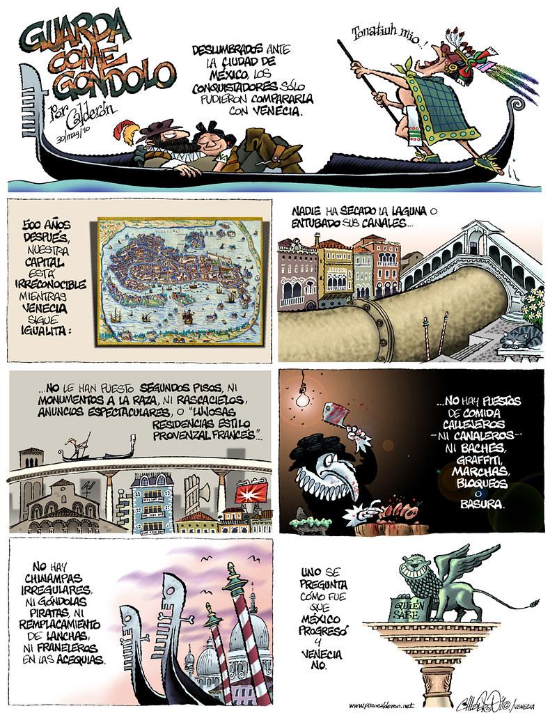 """Guarda come Gondolo"" de Paco Calderon"