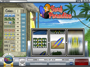 Surf Paradise slot game online review