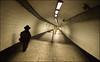 bank! (chirgy) Tags: holiday fuji metro tube bank tunnel x scan ring londonunderground olympustrip35 trilby 400asa borrowed halfterm waterlooandcity v500 jjcg autaut