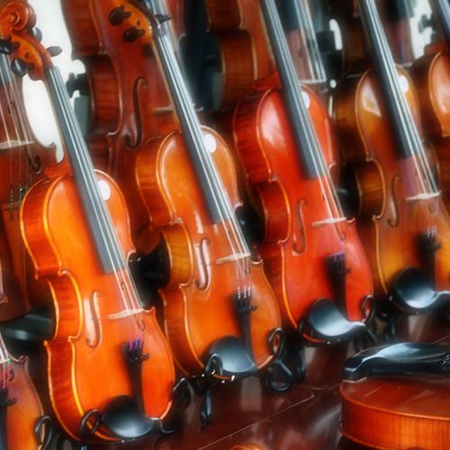iPad Wallpaper: Violins