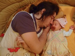 Looking after Daddy (Zejusz) Tags: family portrait me kids indoors janka subjectivedocumentary