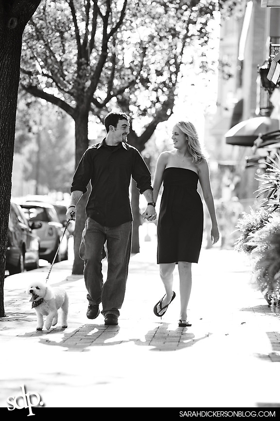 Kansas City engagement photography, Country Club Plaza