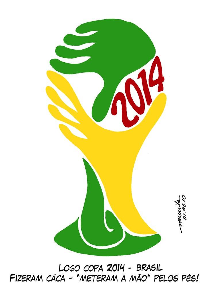 diseño Logo del Mundial de Fútbol Brasil 2014