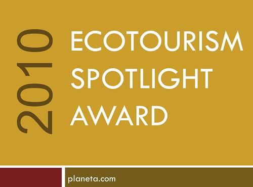 Ecotourism Spotlight Award