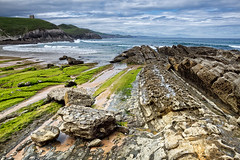 Playa de Tagle - Explore (Azdoe.) Tags: seascape green beach canon coast playa explore 7d santander cantabria suances tagle explored