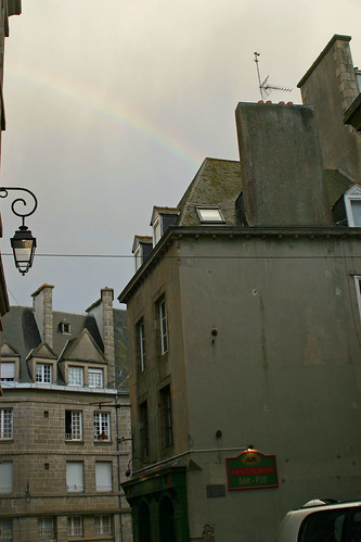 rainbow in st malo