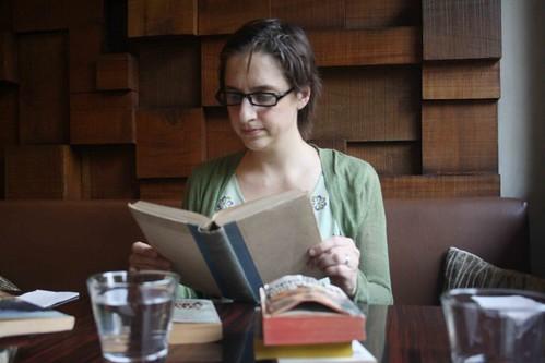 Shh, She's Reading
