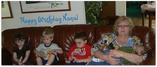 Nana and her grandkids