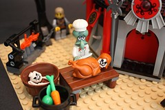 Eat at Grock's (gipmetro) Tags: castle lego hut trolls