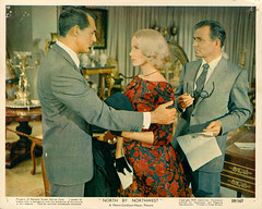 North By Northwest (1959) - still (Advertising Hitchcock) Tags: carygrant evamariesaint northbynorthwest jamesmason northbynorthwest1959